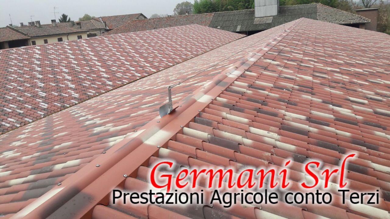 Sistemazione tetti germani srl lodi lombardia for Tetto finto coppo